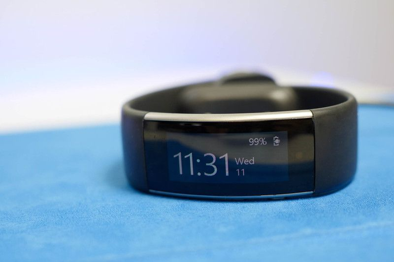 Microsoft Band 2 now automatically pauses a tracking session if you stop