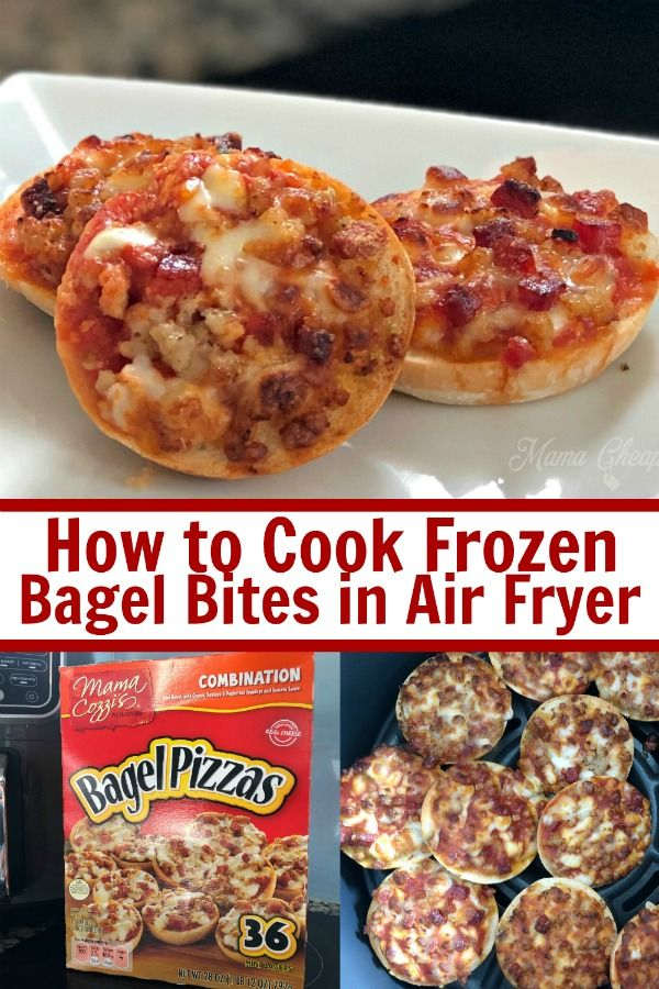 The air fryer is the perfect way to cook frozen snacks and