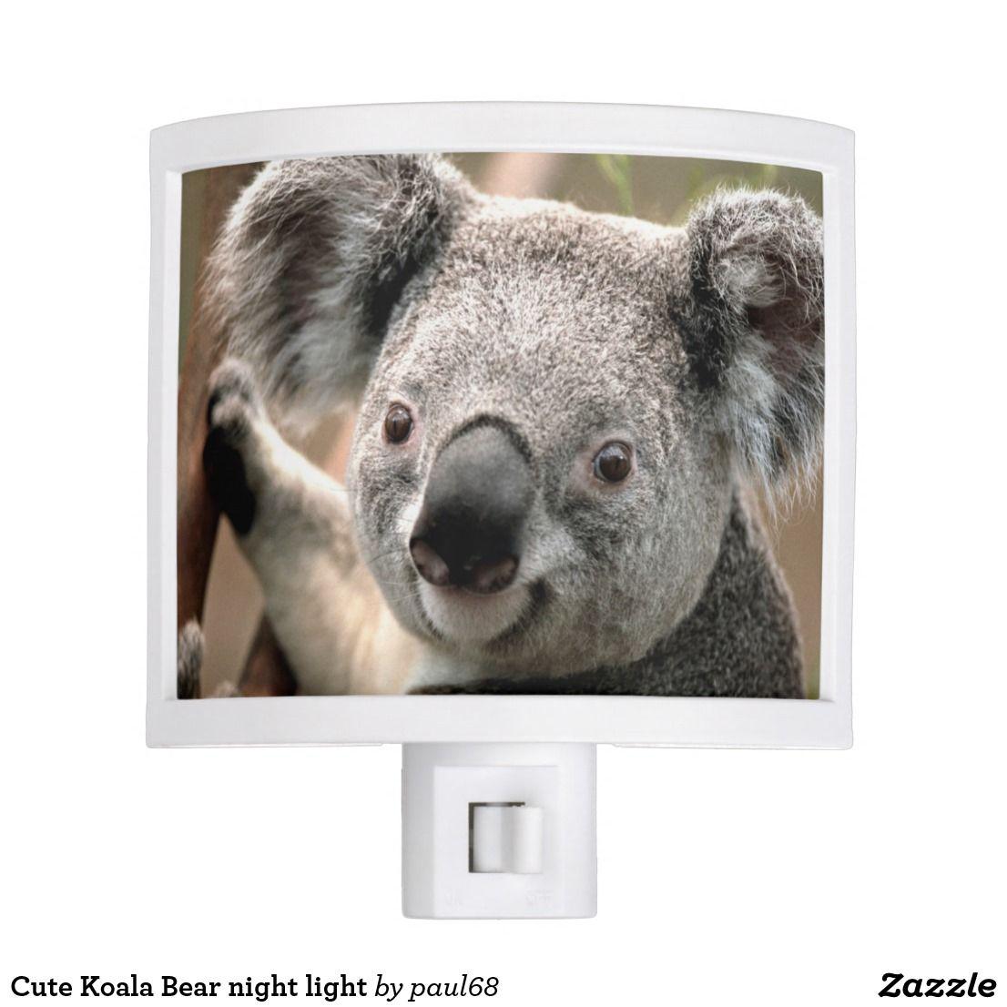 Cute Koala Bear night light   Zazzle.com