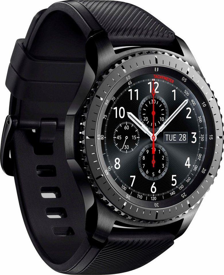 Samsung Gear S3 Frontier Smartwatch 3 3 Cm 1 3 Zoll Tizen Os Online Kaufen In 2020 Samsung Gear S3 Frontier Smart Watch Mobile Accessories