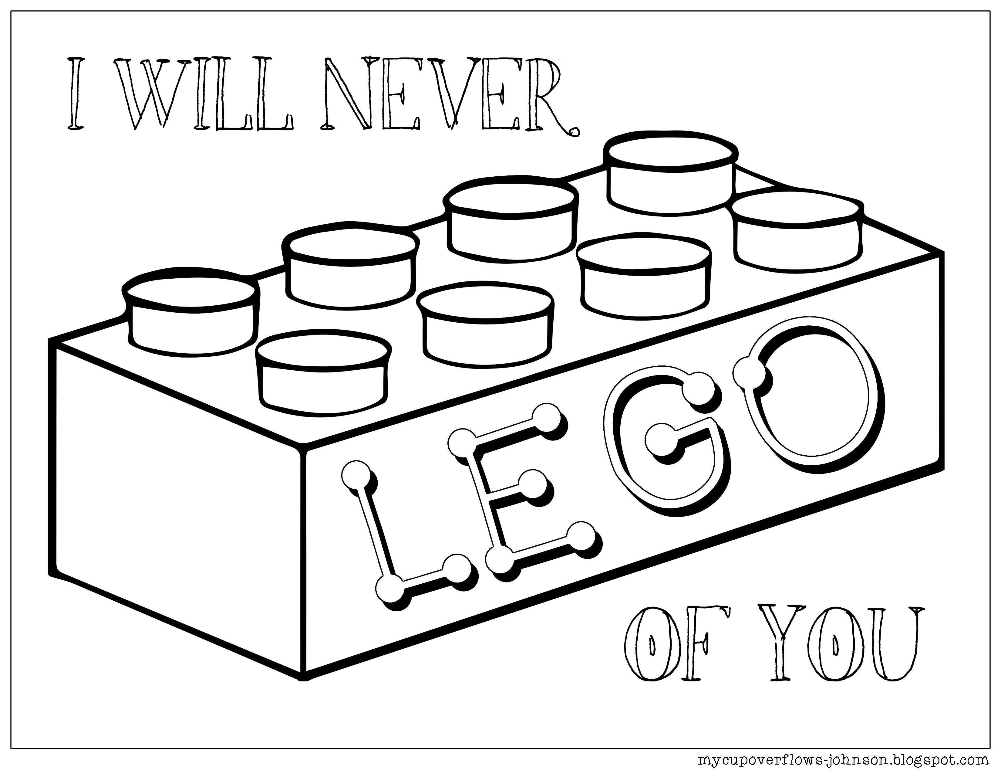 Be My Valentine Valentine Coloring Pages Lego Coloring Pages