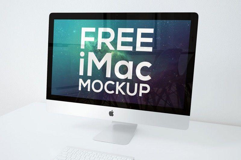 Download Pin By Arseny Samolevsky On Free Mockups Imac Mockup Tech Branding
