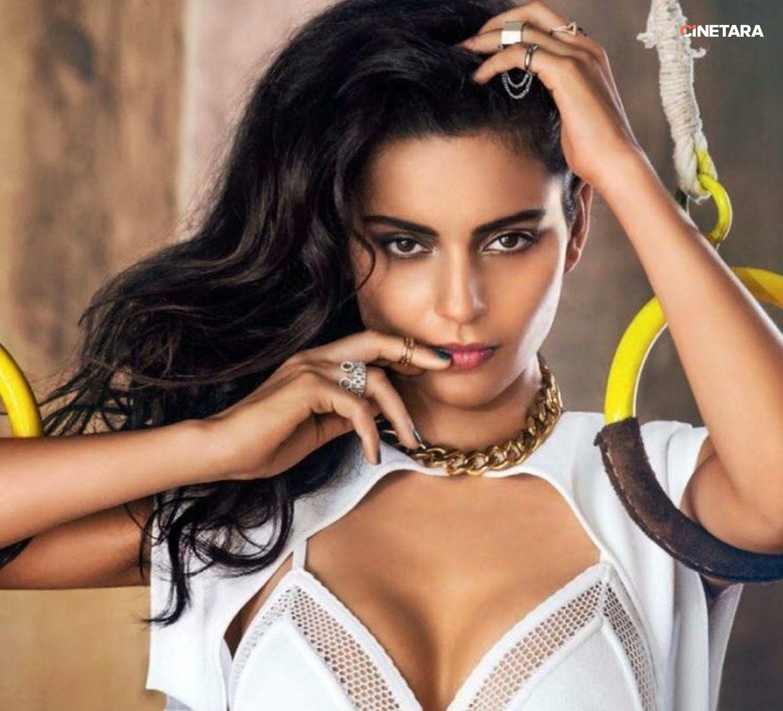 kangana ranaut vogue hot photos showing cleavage | kamapisachi-hd