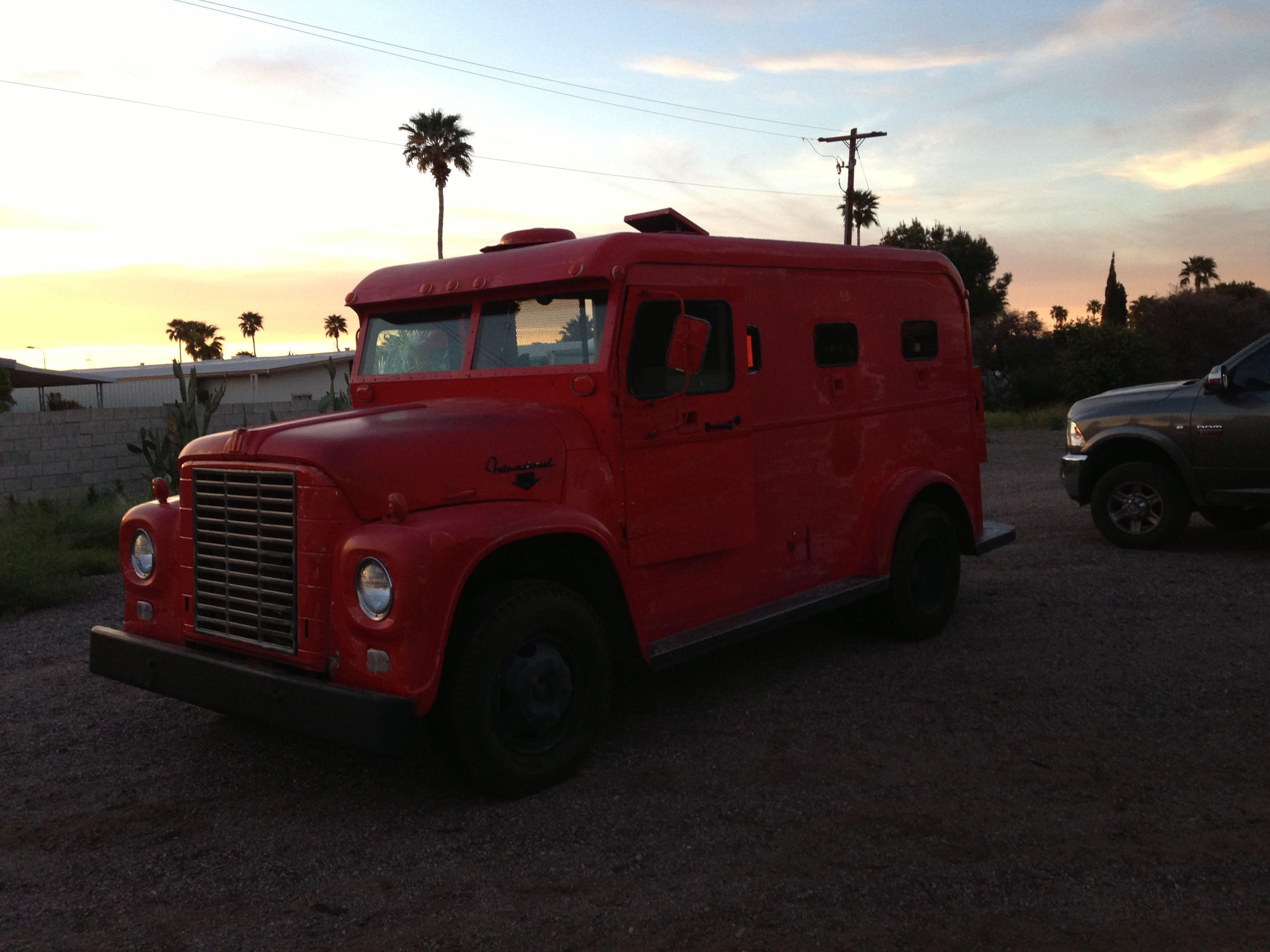 1963 international armored truck 1 of 2 known