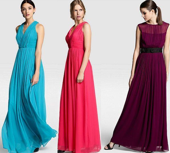 7cad441bf vestido celeste largo de verano - Buscar con Google   Vestidos ...