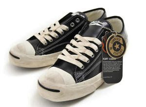8ffce5f5fed3 Converse Jack Purcell... not All Star Chuck Taylors but still cool... at  least they are Converse and Kurt Cobain wore these a lot when he performed  live.