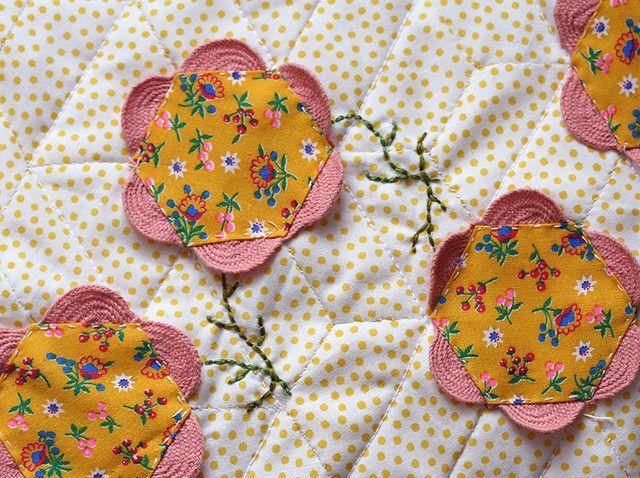 flower garden by Hillary Lang, via Flickr