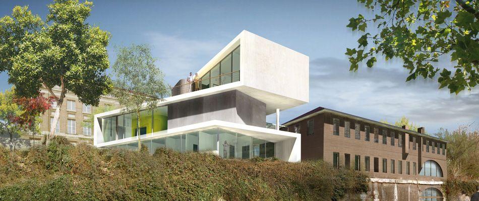 Auberge de jeunesse rouen 76 2006 architecte rouen cba architecture rouen architecte