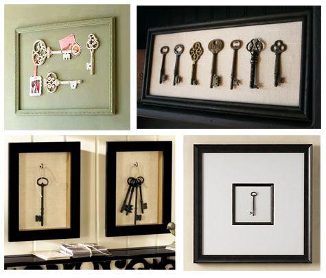 Key Wall Art inexpensive diy wall art | key