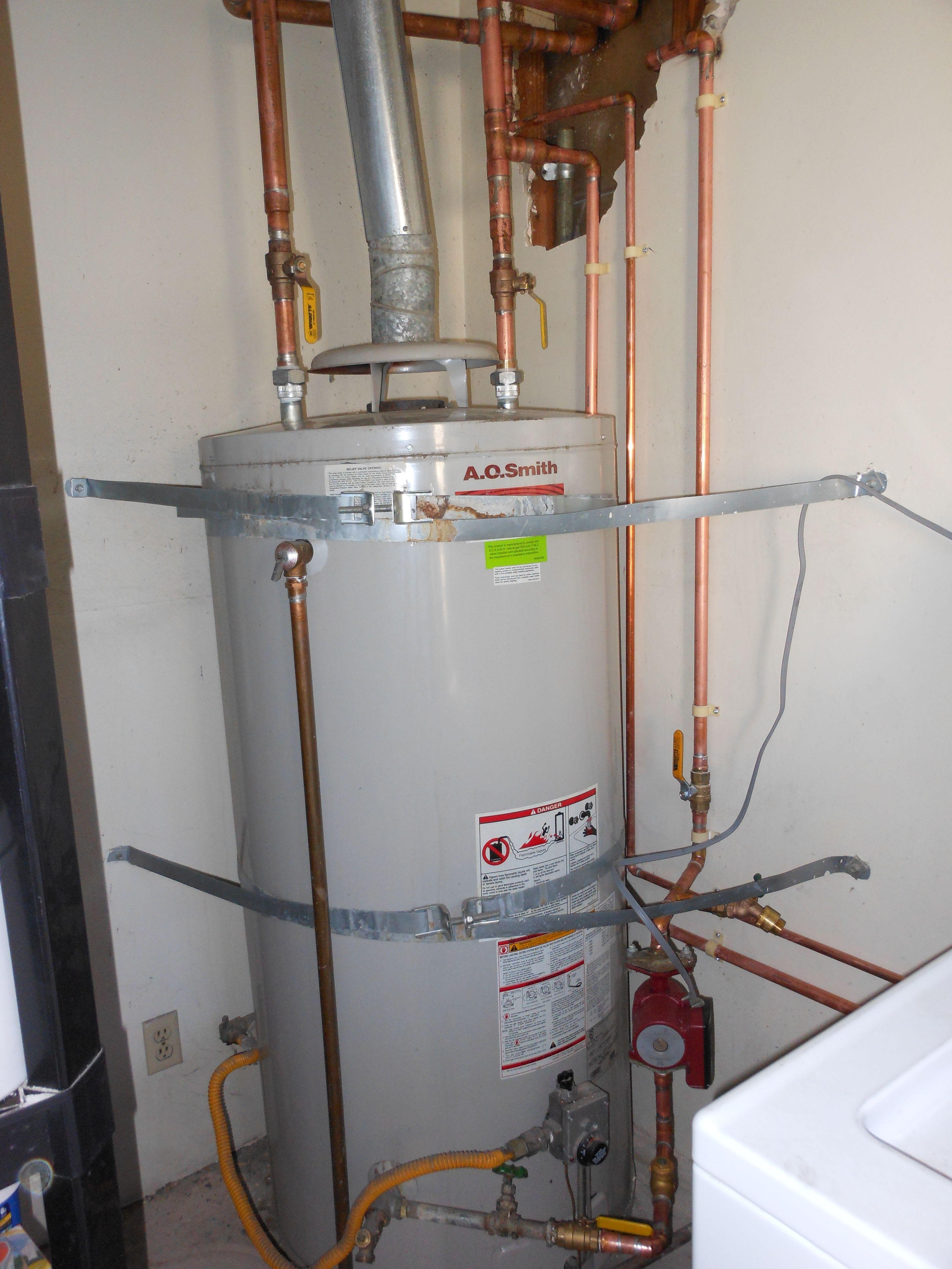 Copper Repiping The Water Heater In Long Beach Ca Ameri Cal Repipe Plumbing Plumbing Water Heater Homeowner