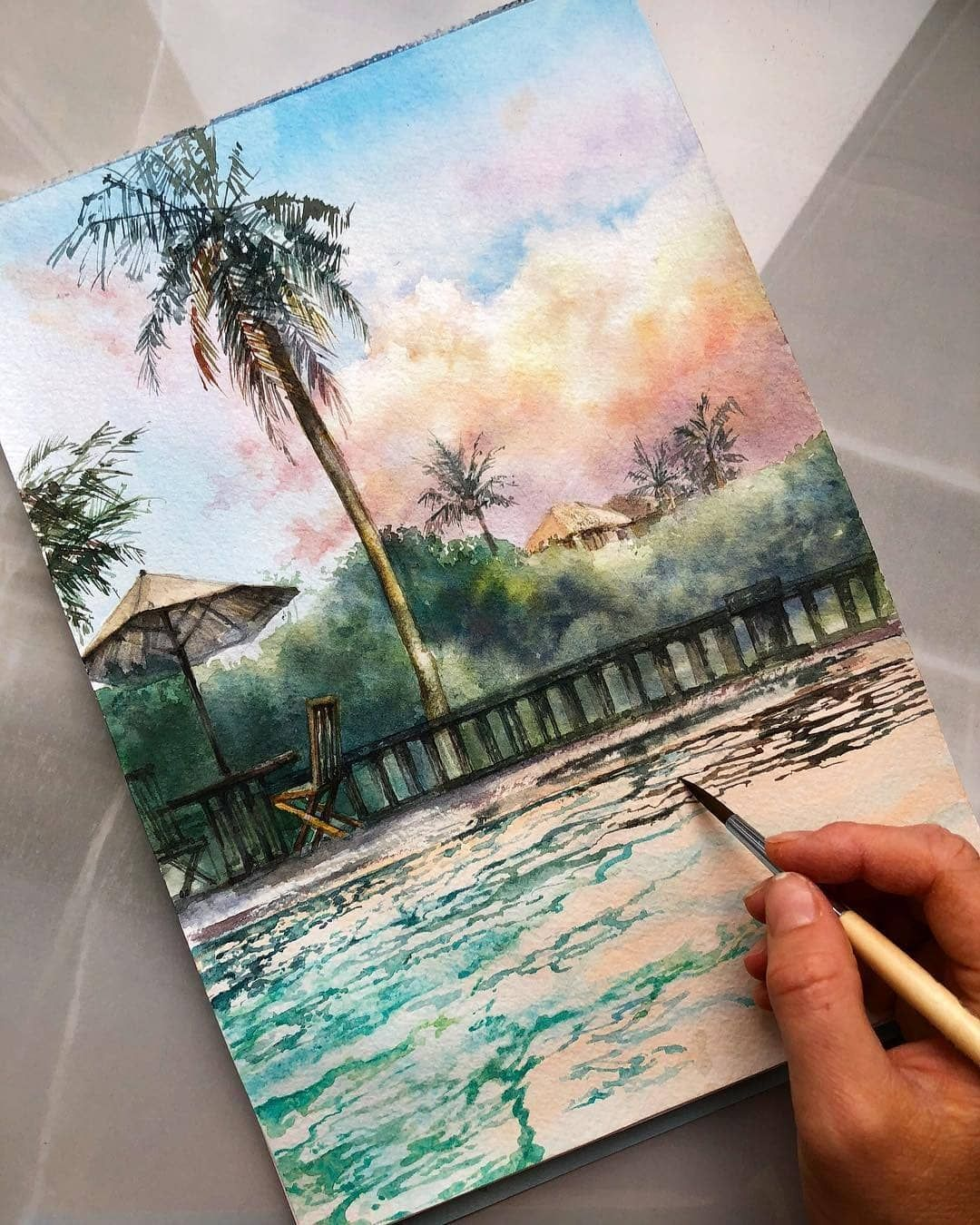 Top Watercolor Gallery On Instagram More Art Every Day On