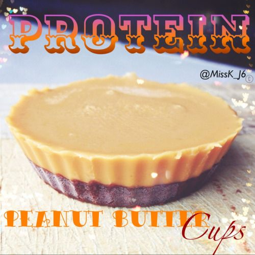 High protein healthy peanut butter cups.   Ingredients   Chocolate 2-3 tbsp cacao powder (or cocoa) 1/3c coconut butter melted  2tbsp natvia 1/3c maple syrup   2tbsp natural peanut butter   Instructions  mix the chocolate ingredients into a bowl and then pour it into 4 silicon muffin molds place into the freezer for approximately 10mins  Remove from the freezer and spread the peanut butter evenly  in each mould then freeze for another 15-20 mins  Makes 4. Store them in the freezer   Protein…