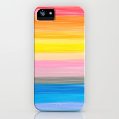 Crayon Love: Good Feeling iPhone Case by Ornaart - $35.00