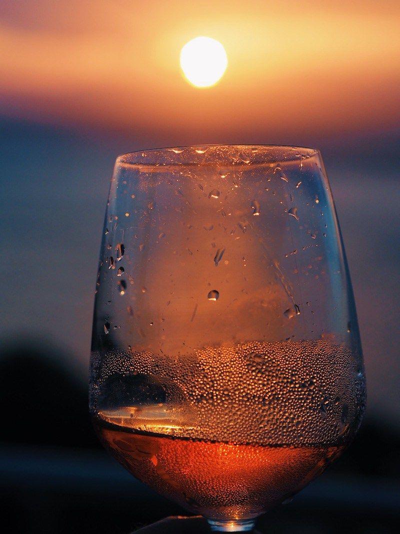 A Glass Of Tassie Wine At Sunset In Freycinet National Park Weinzeit Wein
