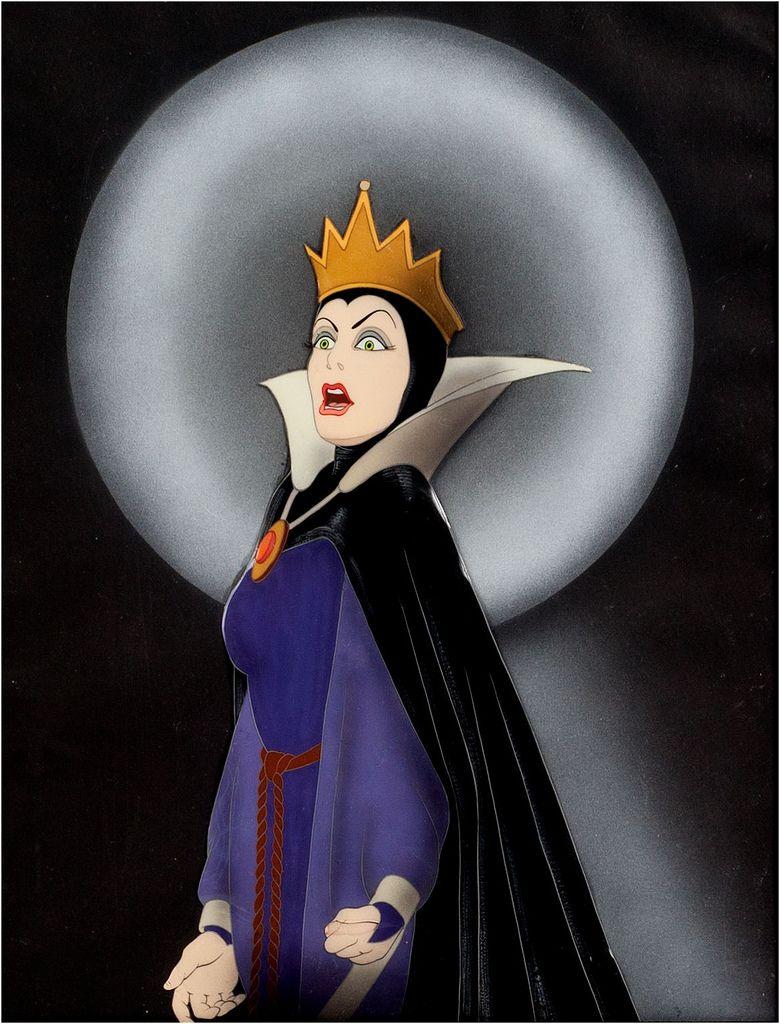 Snow white evil queen cel snow white evil queen evil - Evil queen disney ...