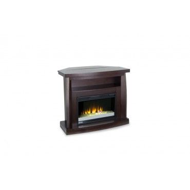 Have it your way with my Boomerang Fireplace! This no fuss electric #fireplace can fit in a corner or on a flat wall for great media display.