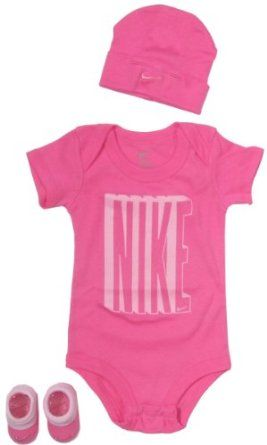 Nike Baby Girl Clothes Beauteous Nike Baby Clothing Set With Big Nike Bold Logo For Baby Boys Design Inspiration