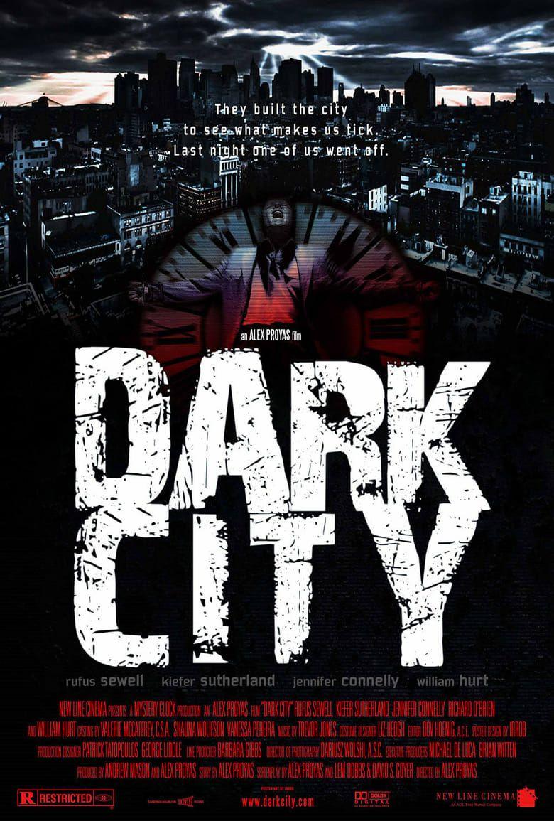 Ver Pelicula Dark City Pelicula Completa Online En Español Subtitulada Darkcity Completa Peliculacom Dark City Movie Posters Sci Fi Horror Movies