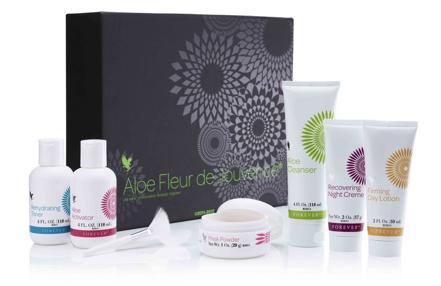 Aloe Fleur De Jouvence Collection In Deze Exclusieve Verpakking