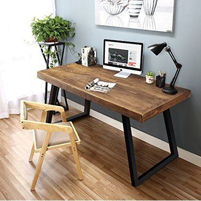 This Retro Desk Is Sure To Fit With Any Decor And Bring Some Natural Colors  Into Your Office. Design