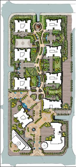 Freehand Landscape Master Plan Urbandesignarchitecture Urban Landscape Design Landscape Design Plans Urban Design Plan
