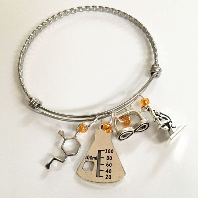 Charm bracelet/forensic and technical scientist | Bracelets, Girls ...