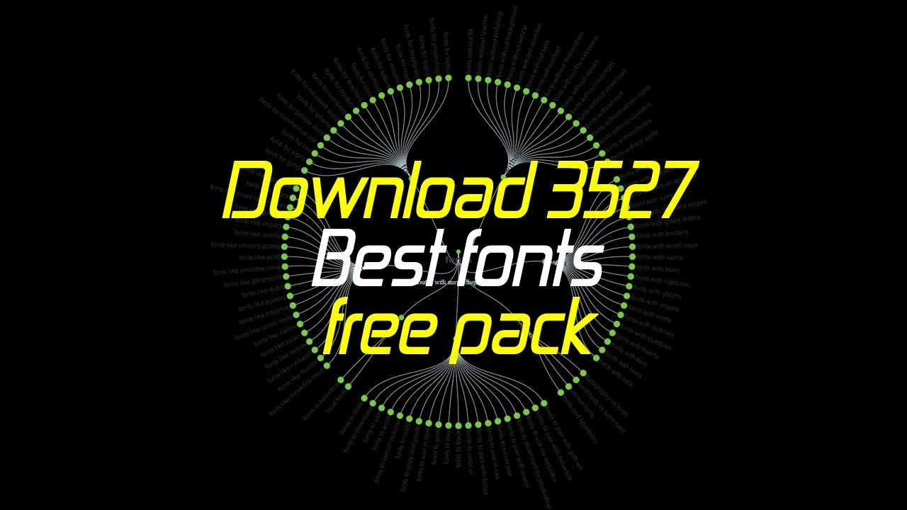 Download Download 3527 Best fonts free pack | Cool fonts, Fonts, Free
