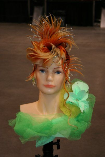 mannequin competition shots - Hairdressing Competition Inspiration