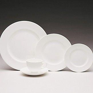 Wedgewood Plain White Bone China Not Jasper Conran S Version
