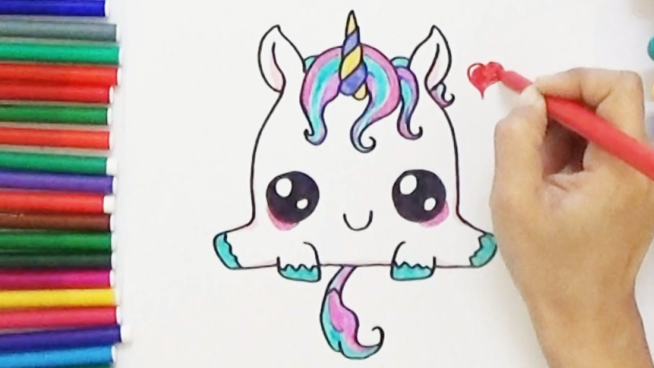 Pin By Gladys Contreras On Camille S Journal Unicorn Drawing Easy Drawings Cute Easy Drawings