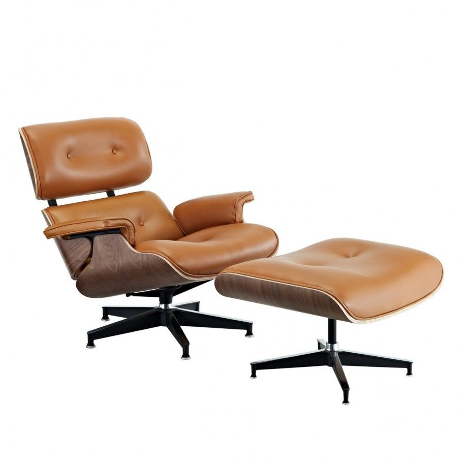 Tan Leather Recliner And Ottoman Similar To Mine