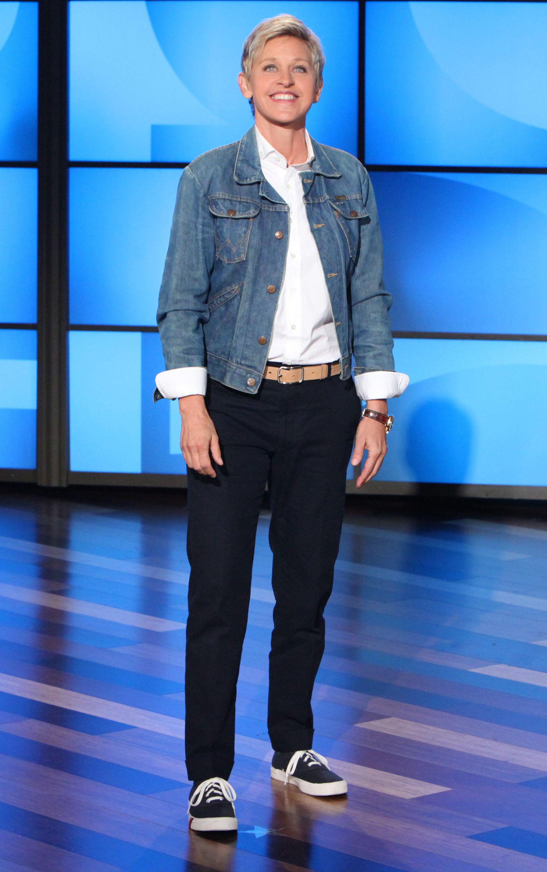 To go to an Ellen show 3 Jacket Vintage Wrangler Shirt Anto