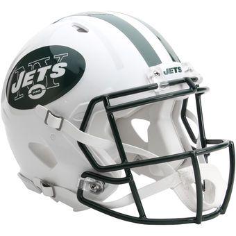 6cdc28386c7 Riddell New York Jets Revolution Speed Full-Size Authentic Football Helmet