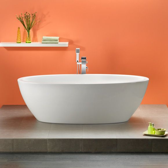 Badewanne Oval Freistehend ottofond freistehende oval badewanne bad
