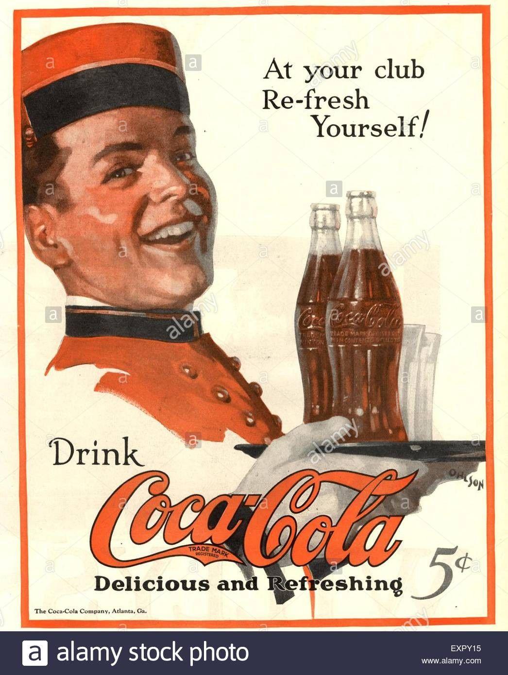 Coca Cola Ad 1920s Coca Cola Coca Cola Ad Coca Cola Coke