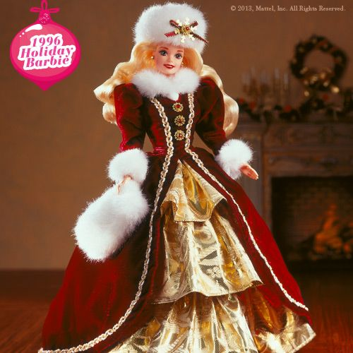 Holiday Barbie 1996 always loved the holiday barbies, I think this is the last one I got