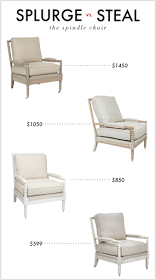 Kelly Market: SPLURGE VS. STEAL: THE SPINDLE CHAIR