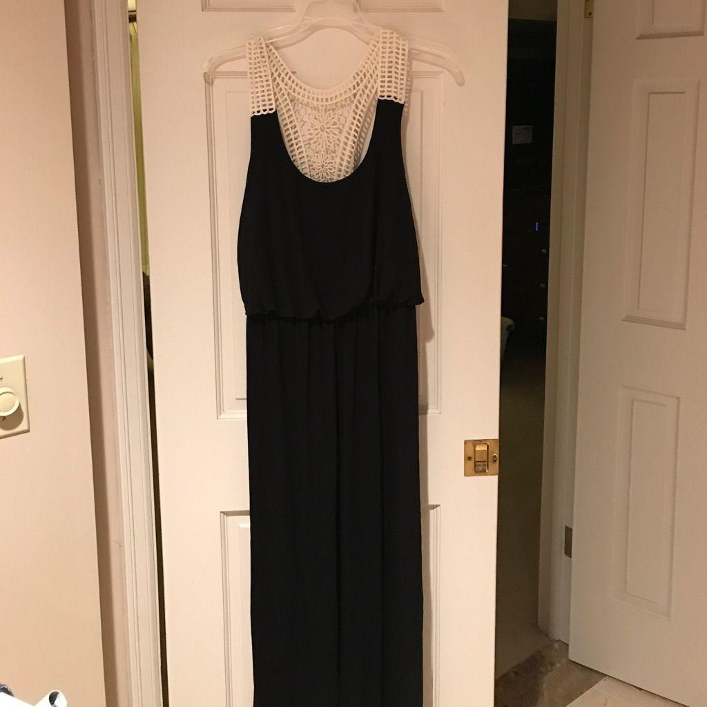Maxi Lace Top Dress
