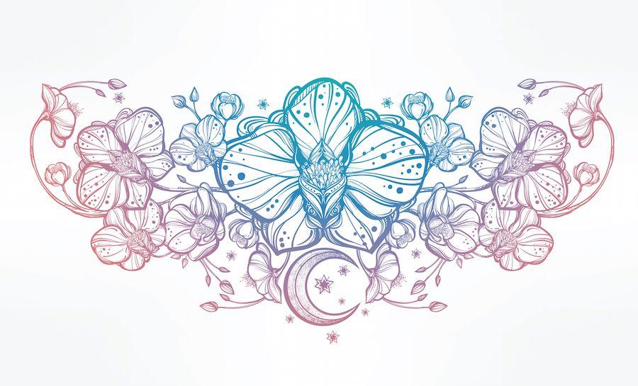 Pin by Kristen McCoy on Tattoo Ideas Orchid tattoo