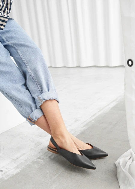 Ballerina flats, Flat shoes outfit