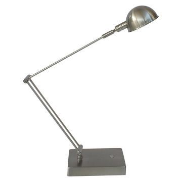 Attractive $27 Threshold™ Silver Articulated LED Desk Lamp   Silver