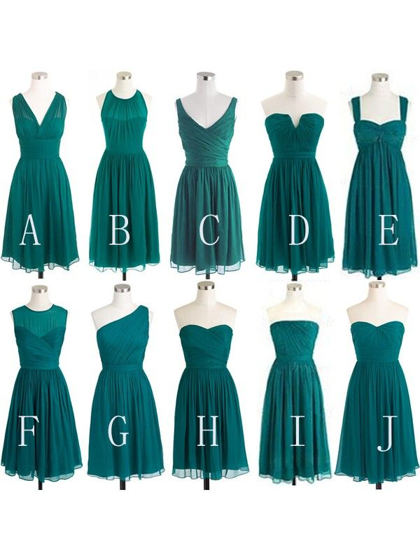 56ec366e970 Short Bridesmaid Dresses