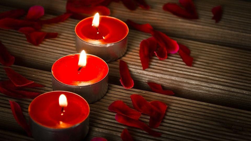 Bagno Romantico San Valentino : Candele luminose con le pile marlen 1 candele romantiche bagni