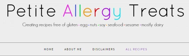 All Recipes - Petite Allergy Treats