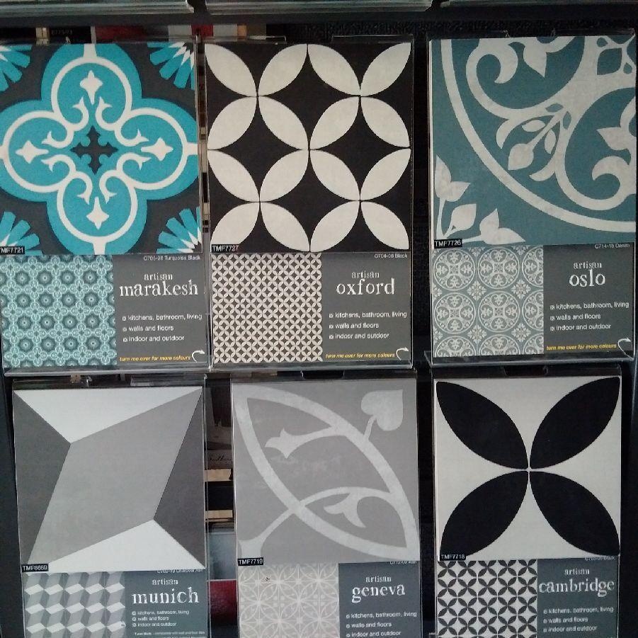 Southern Cross Ceramics Artisan Tiles Series 200x200mm