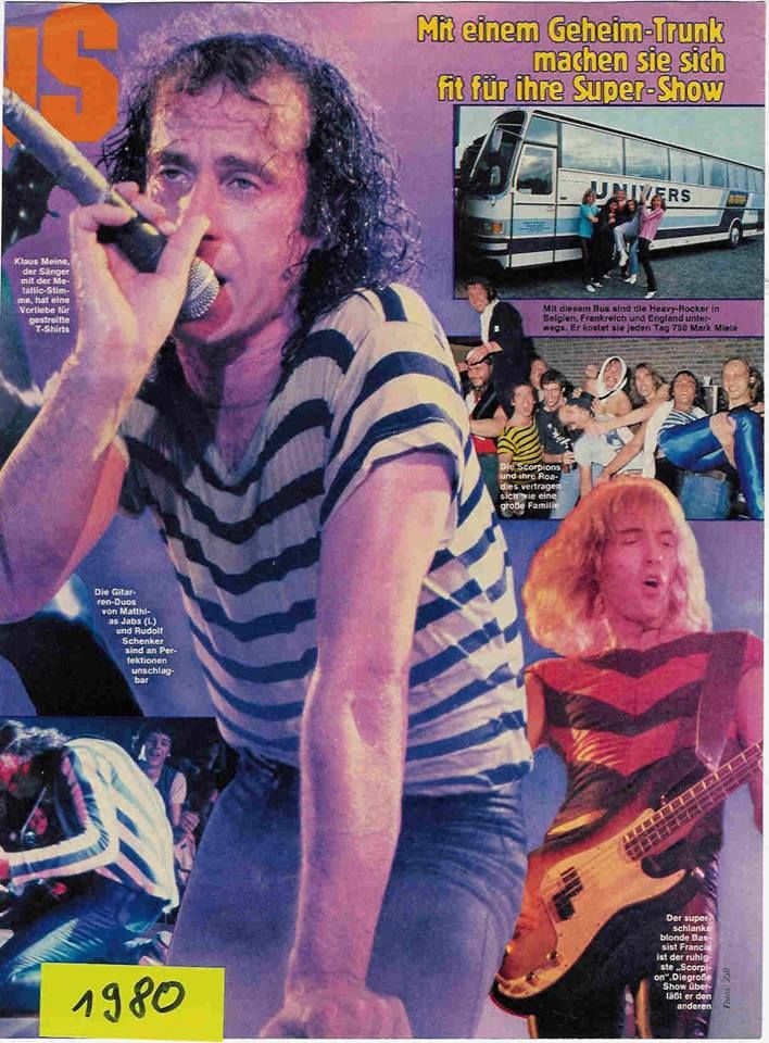 Klaus Meine. Scorpions. | Hard rock, Heavy metal bands, Klaus