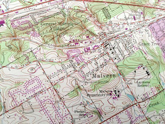 Antique Malvern, Pennsylvania 1955 US Geological Survey ... on manheim pennsylvania map, pennsburg pennsylvania map, united states pennsylvania map, bensalem pennsylvania map, schuylkill river pennsylvania map, springdale pennsylvania map, monessen pennsylvania map, carlton pennsylvania map, dauphin county pennsylvania map, christiana pennsylvania map, wayne pennsylvania map, furlong pennsylvania map, honey brook pennsylvania map, bethlehem pennsylvania map, pennsylvania pennsylvania map, quakertown pennsylvania map, liberty bell pennsylvania map, laceyville pennsylvania map, roseto pennsylvania map, sellersville pennsylvania map,