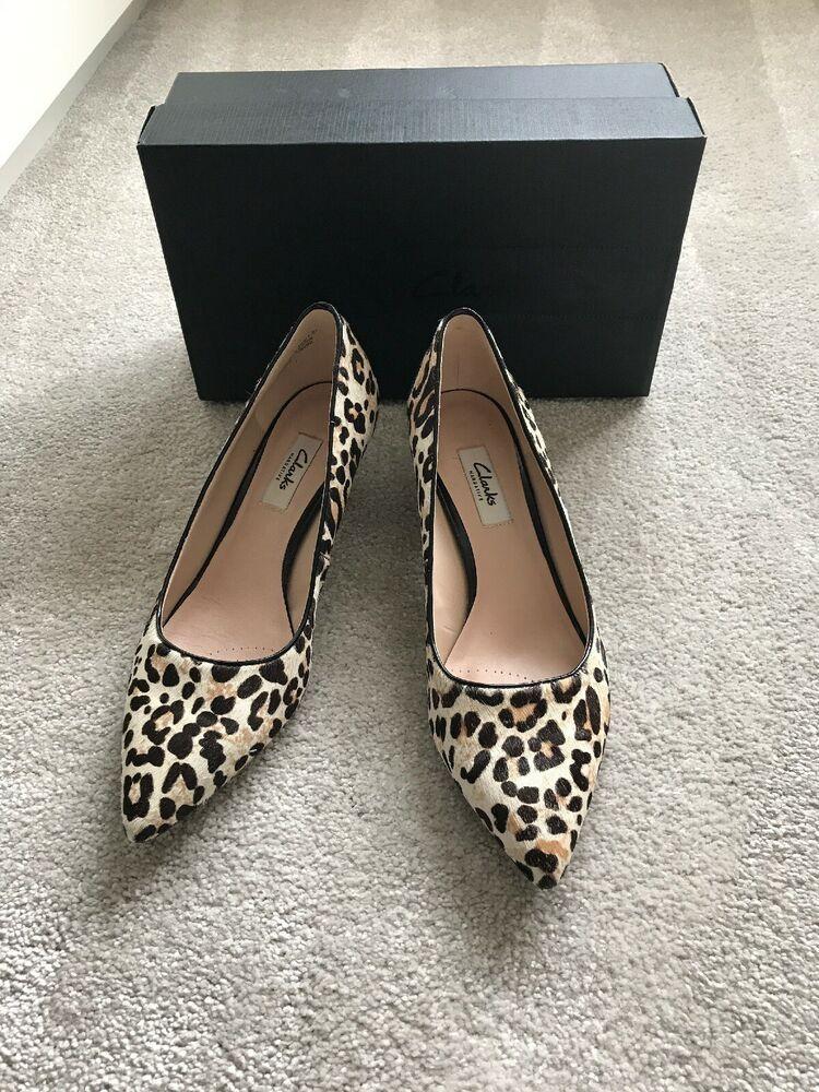 a399a3cf66e2 Clarks Leopard Print Kitten Heels 6 - Kitten Heels from Ebay UK - # KittenHeels #heels 0.99 (0 Bids) End Date: Thursday Mar-28-2019 21:45:24  GMT Bid now ...