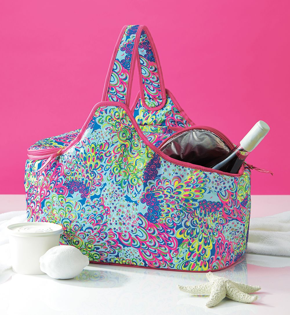 Lilly Pulitzer Party Cooler In Lilly's Lagoon
