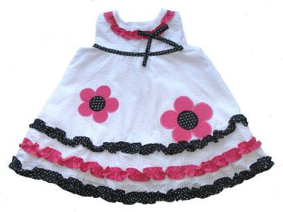 De La Designs Flower Dress BLOSSOM TOTS